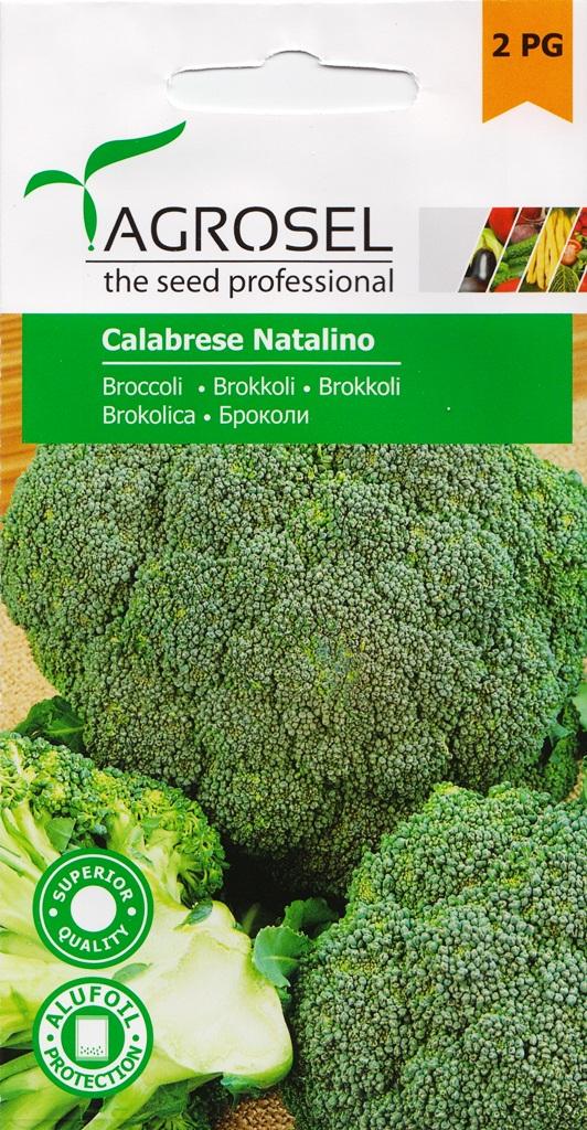 Seminte de broccoli Calabrese Natalino - Agrosel