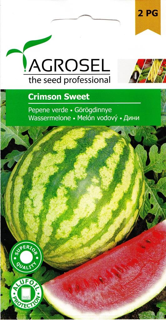 Seminte de pepene verde Crimson Sweet - Agrosel