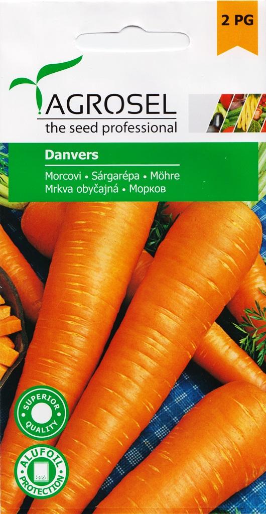 Seminte de morcovi Danvers - Agrosel