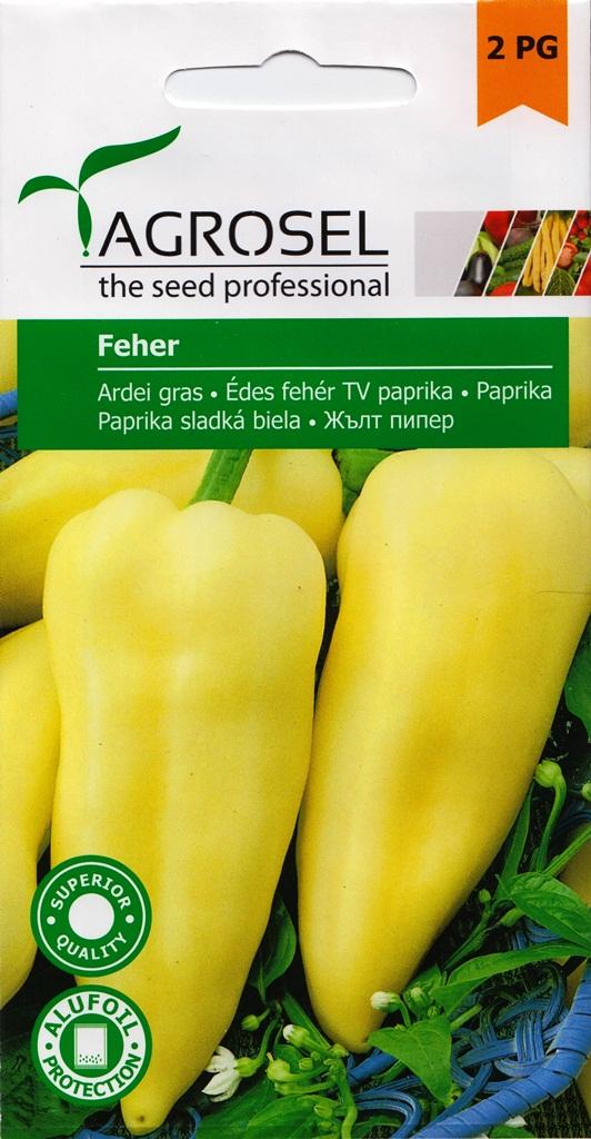 Ardei gras Feher - Agrosel