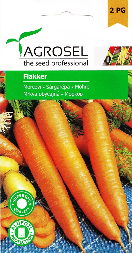 Seminte de morcov Flakker - Agrosel