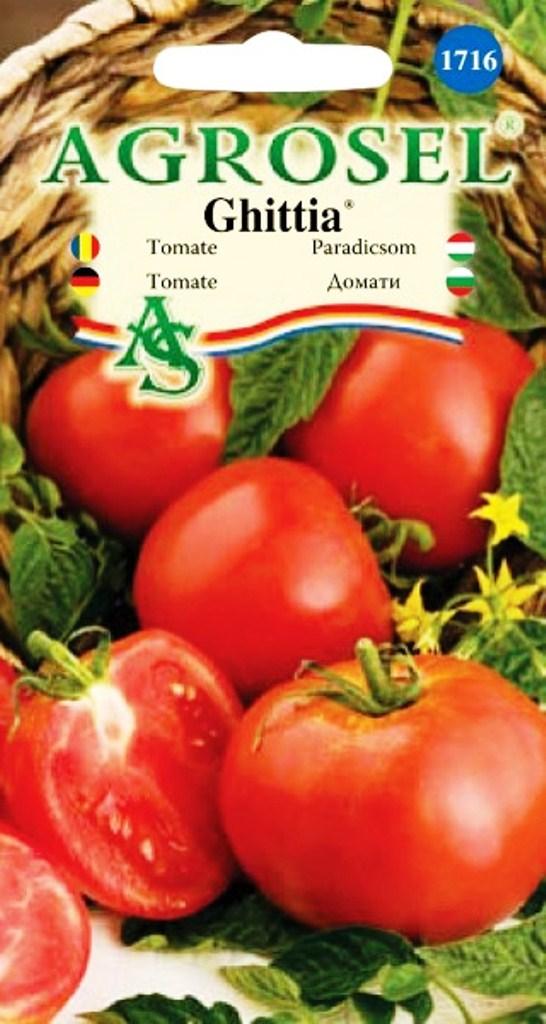 Seminte de tomate Ghittia - Agrosel