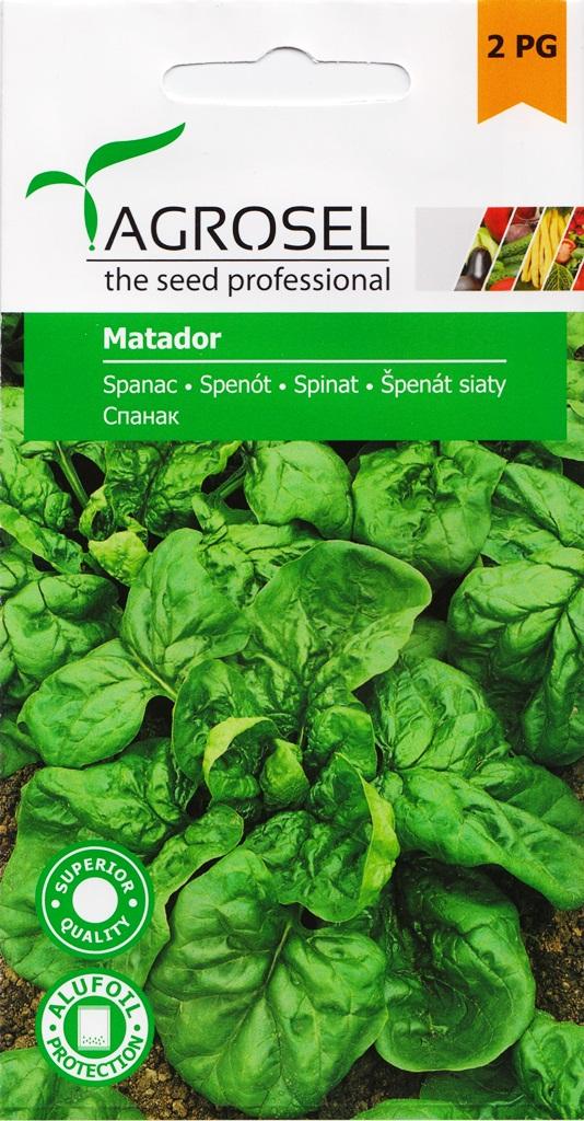 Seminte de spanac Matador - Agrosel