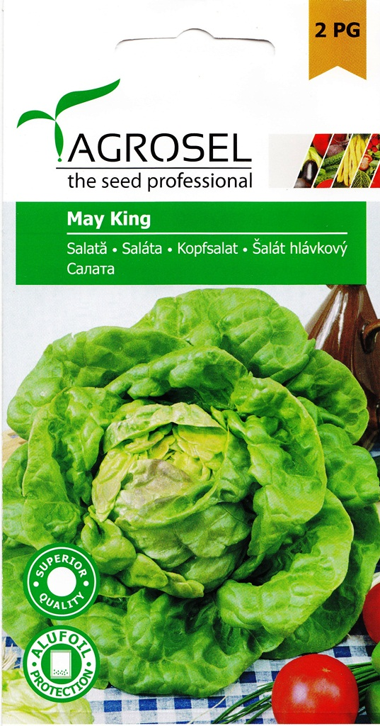 Seminte de salata King of May - Agrosel