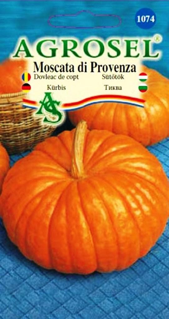 Seminte dovleac de copt Moscata di Provenza - Agrosel