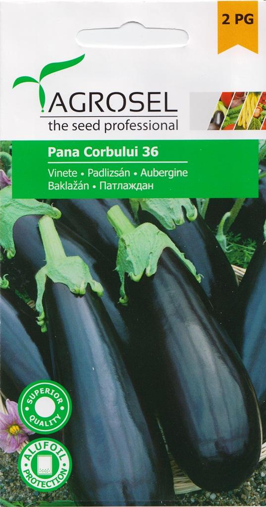 Seminte de vinete Pana Corbului - Agrosel