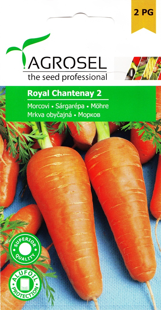 Seminte de morcov Royal Chantenay 2 - Agrosel