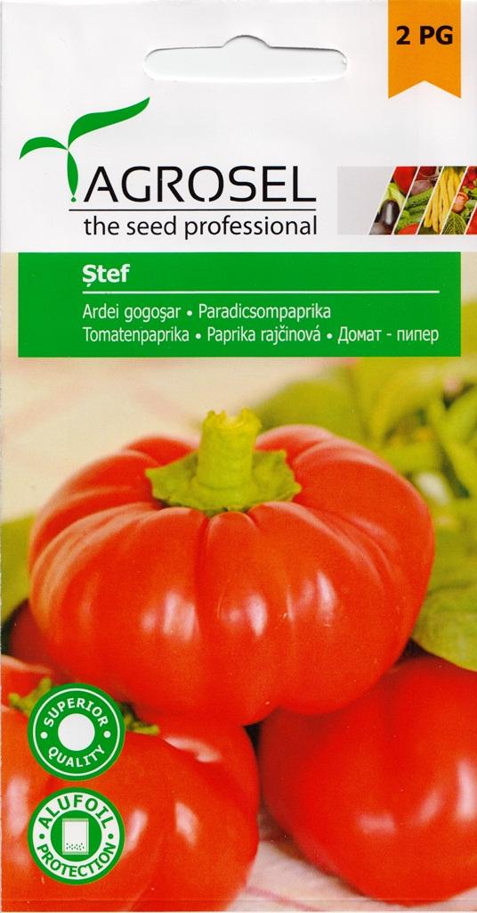 Seminte Agrosel ardei gogosar Stef