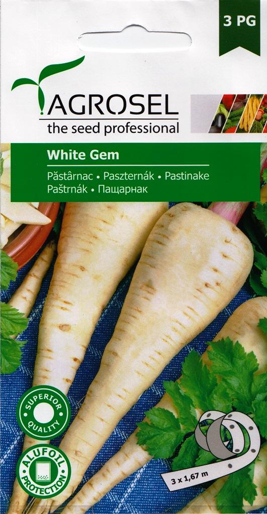 Seminte de pastarnac White Gem - Agrosel