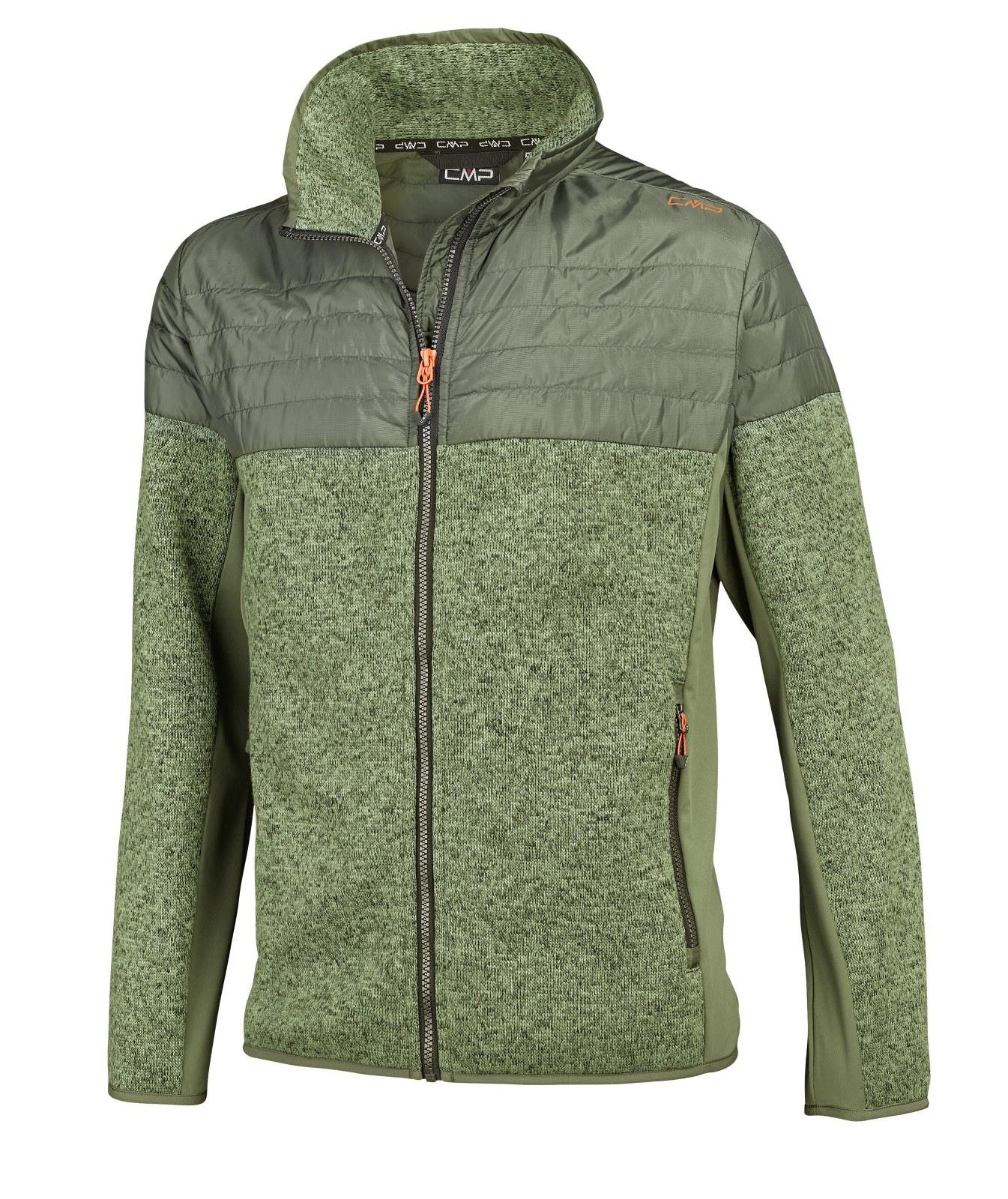 Fleece CMP cu tricot si Softshell