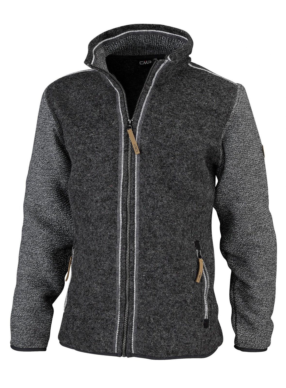 Jacheta fleece din lana CMP