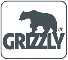 Logo Grizzly - cablu forestier Verdon