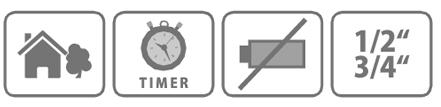 Caracteristici programator Stocker manual pentru doua zone