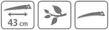 Caracteristici Ferastrau profesional Falco 43 cm