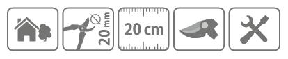 Caracteristici foarfeca Stocker universala 21 cm