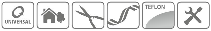 Caracteristici Foarfeca profesionala pentru tuns gard viu Combisystem