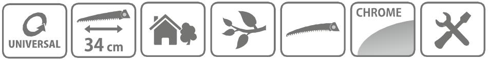 Caracteristici Ferastrau profesional Combisystem 34 cm