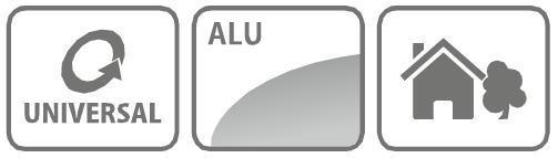 Caracteristici maner telescopic profesional din aluminiu