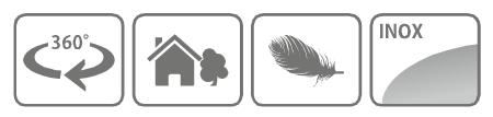 Caracteristici foarfeca manuala pentru tuns gazonul, cu cap rotativ 360 grade