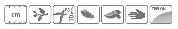 Caracteristici foarfeca pentru taiat crengi tip bypass, cu maner lung 200 cm