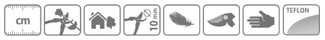 Caracteristici foarfeca hobby taie-prinde pentru crengi, cu maner lung 60 cm