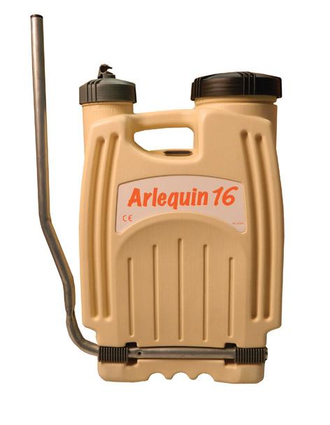 Pompa manuala Arlequin de spate (16 litri)
