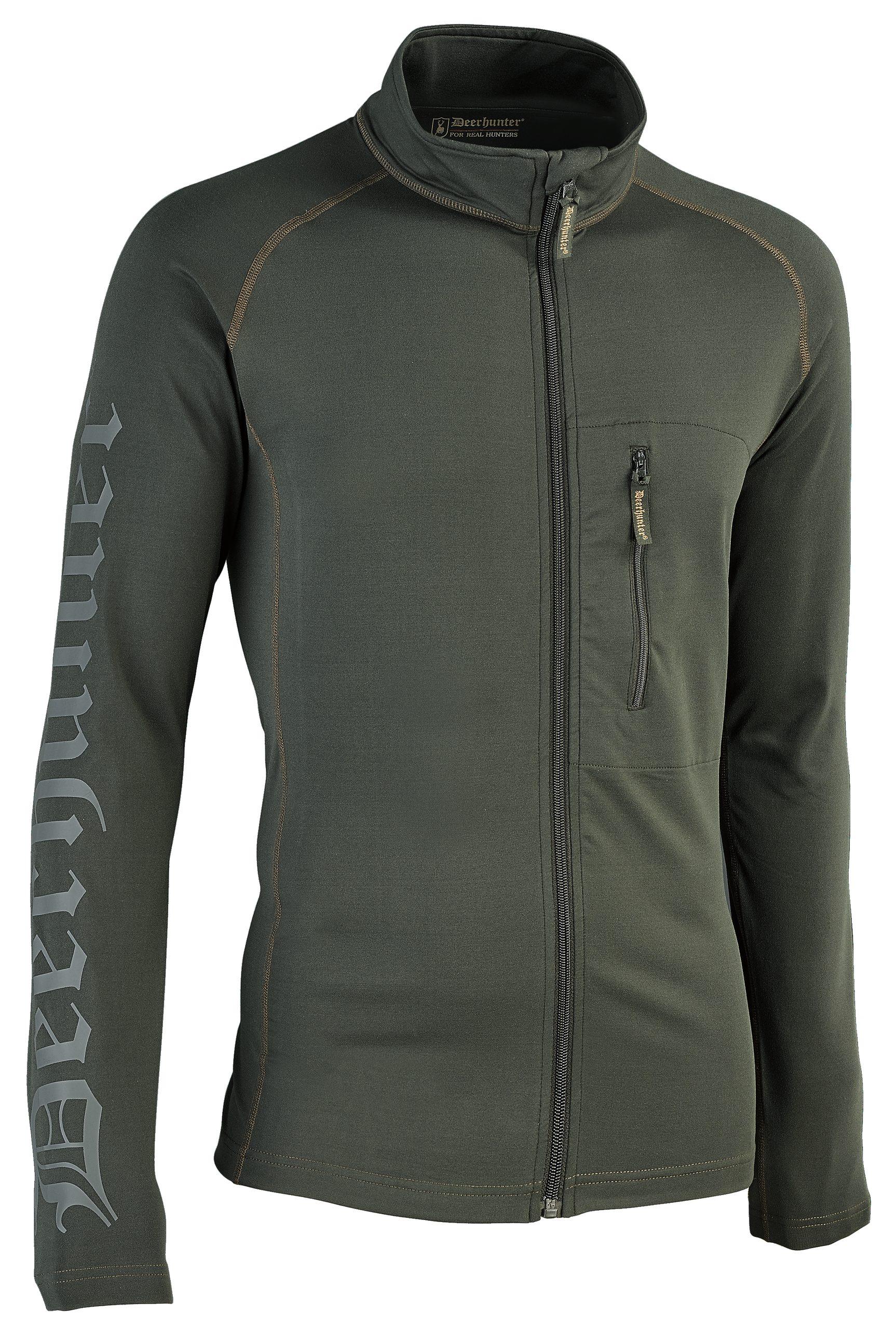 Fleece functional Deerhunter Greystone