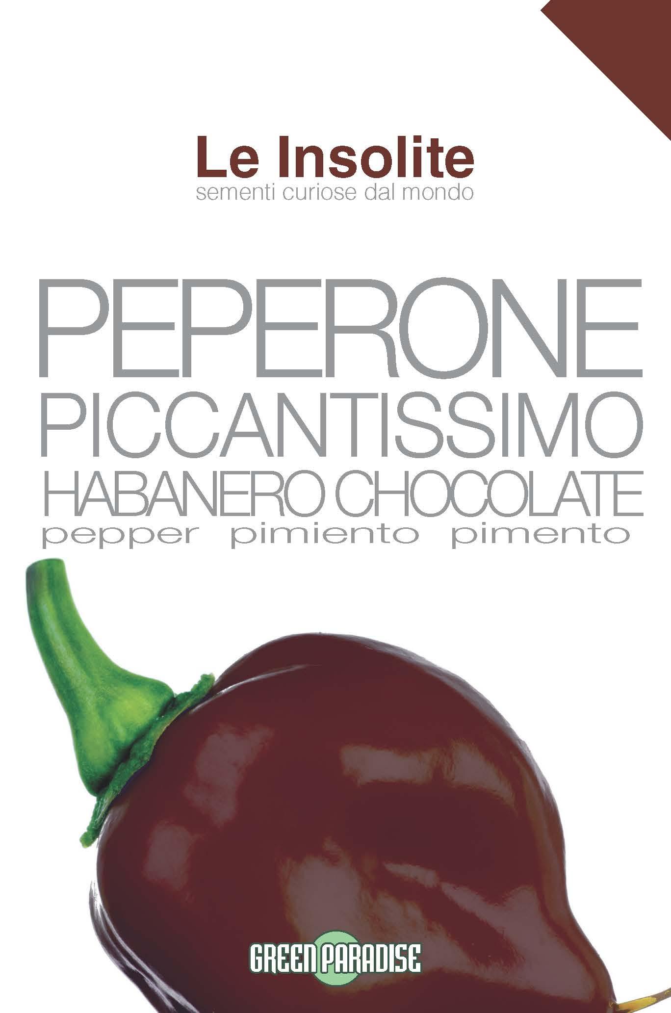 Seminte Ardei Iute Habanero Chocolate
