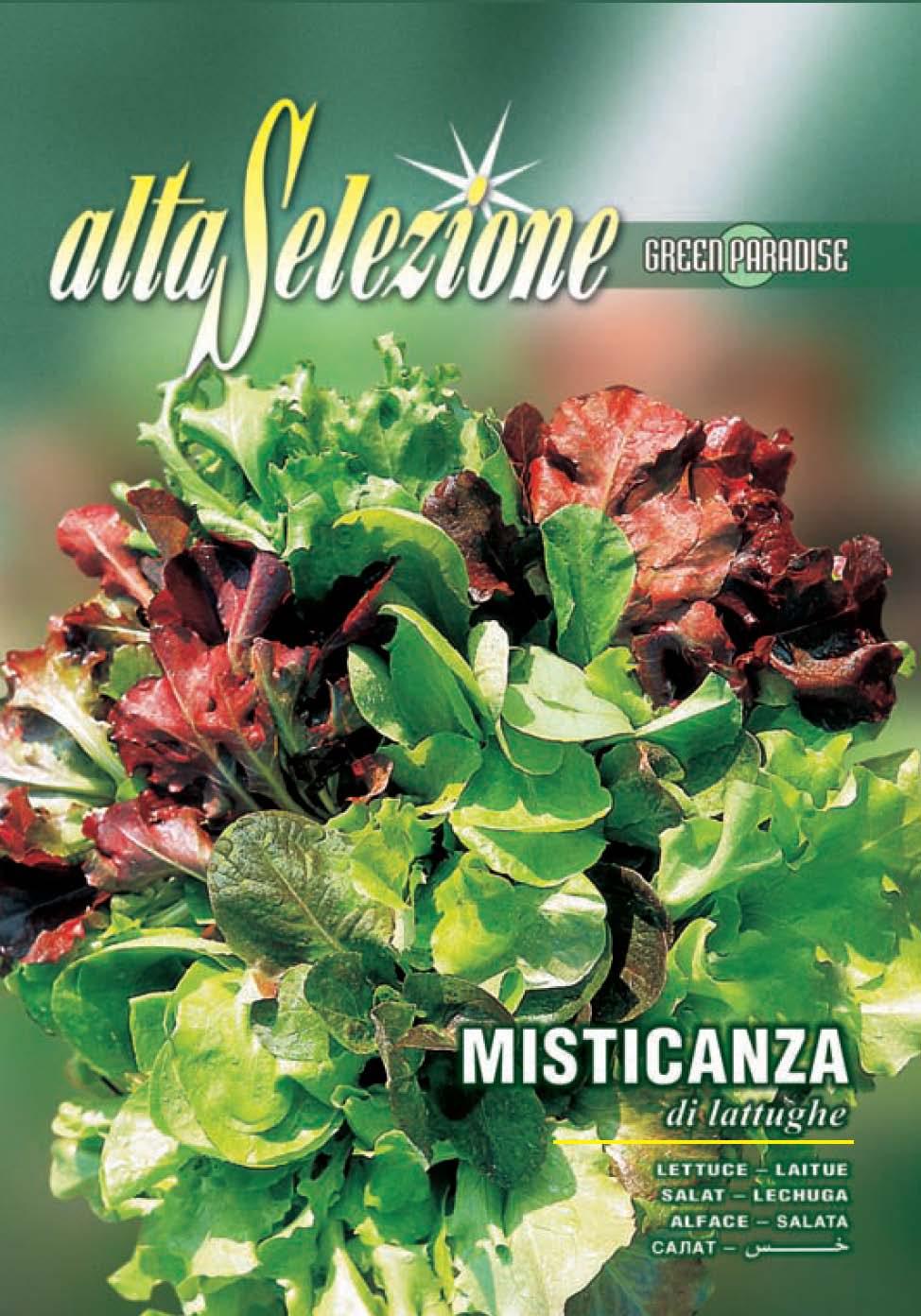Salata amestec Misticanza Di Lattughe - 10 gr.