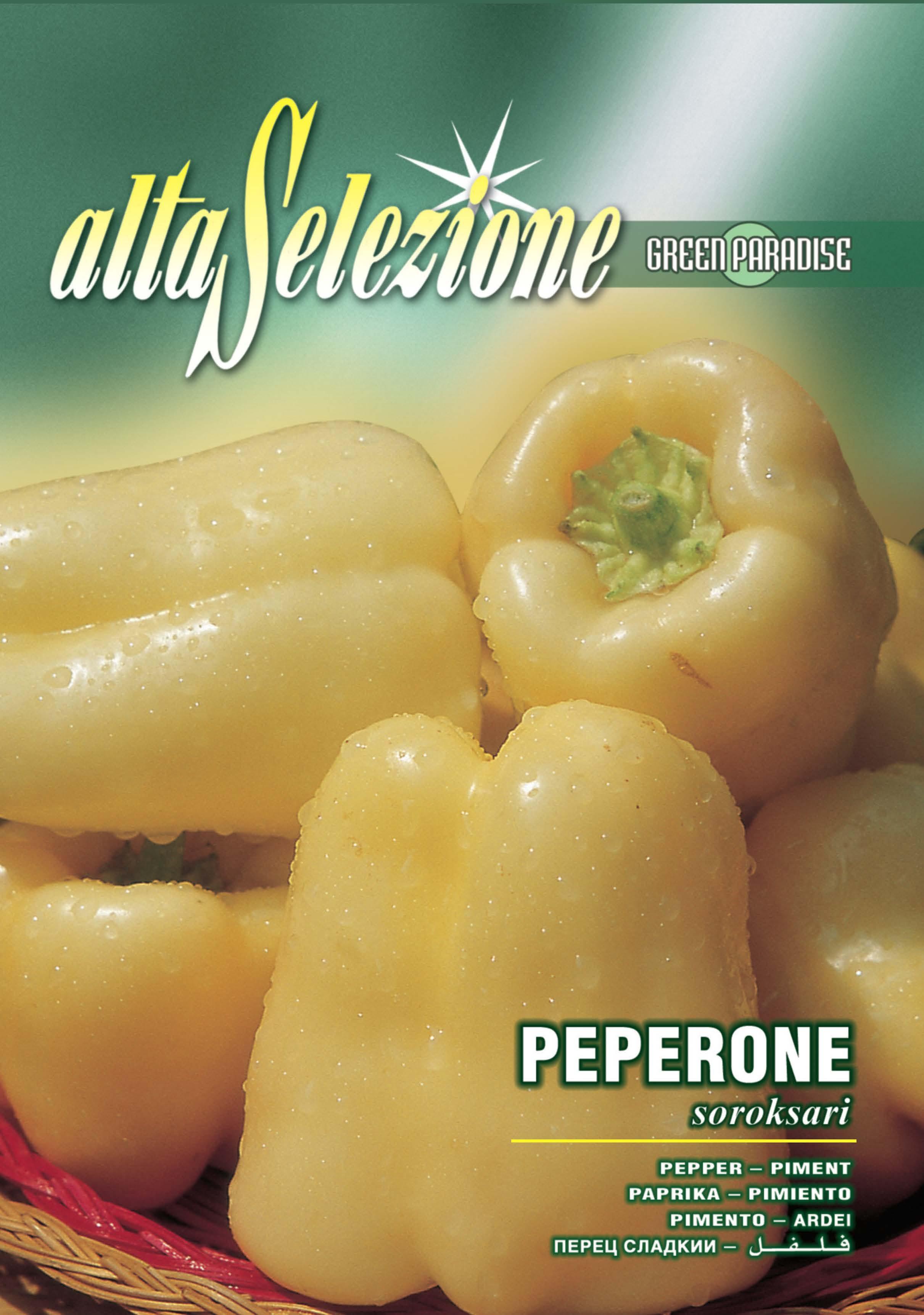 Verdon - Seminte ardei gras Soroksari