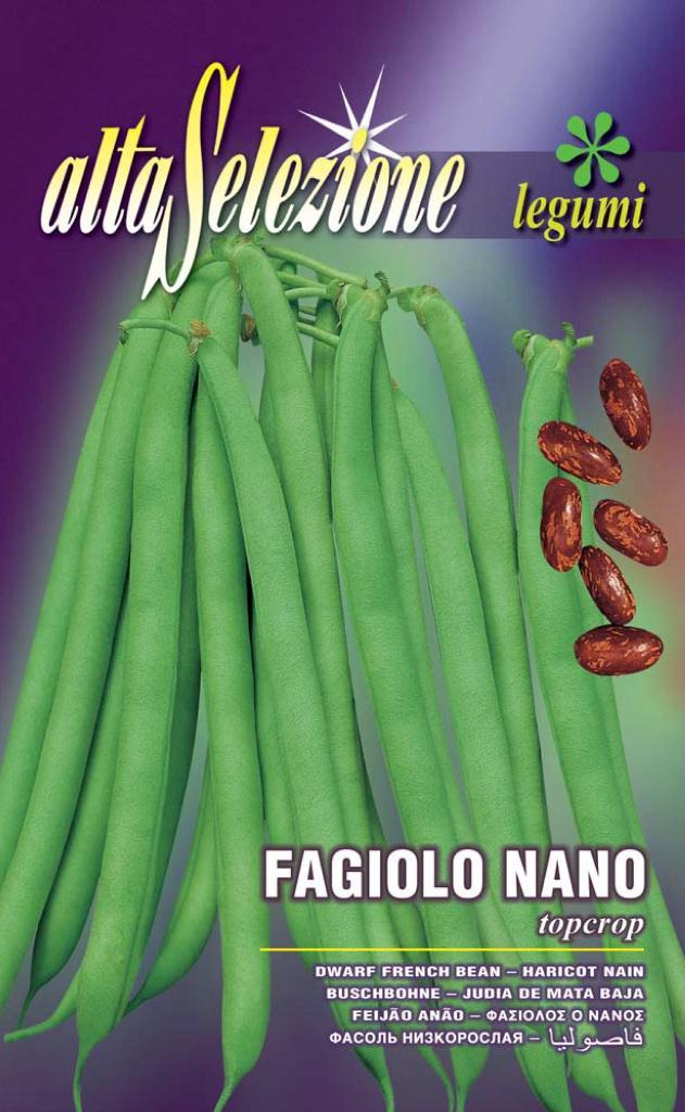 Fasole oloaga fideluta verde Topcrop