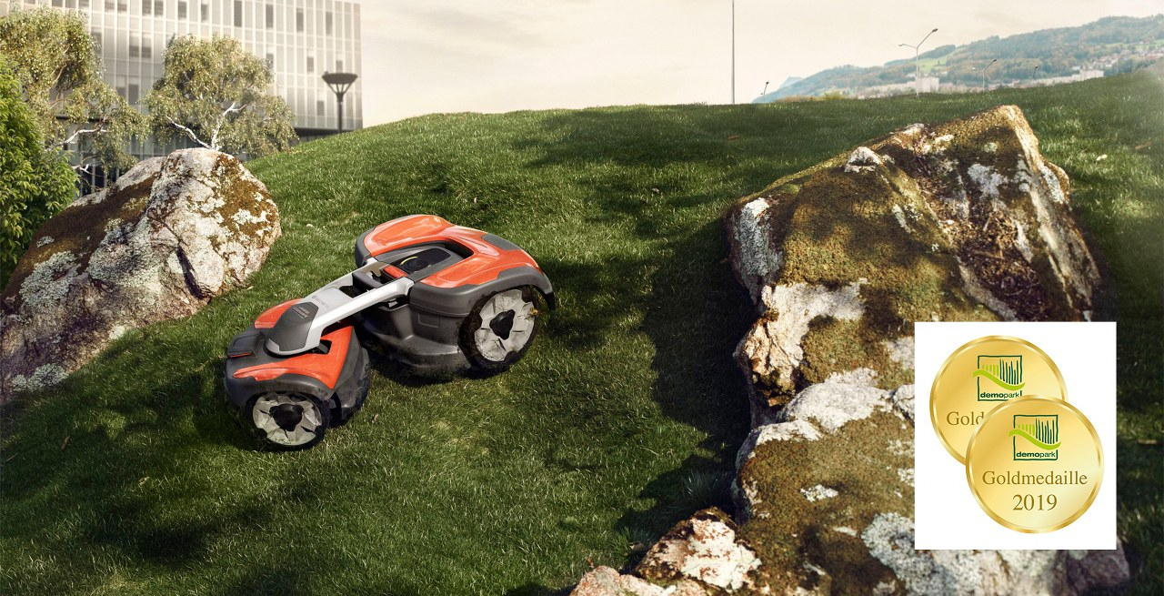 Verdon - Robot tuns gazon Husqvarna Automower 535 AWD