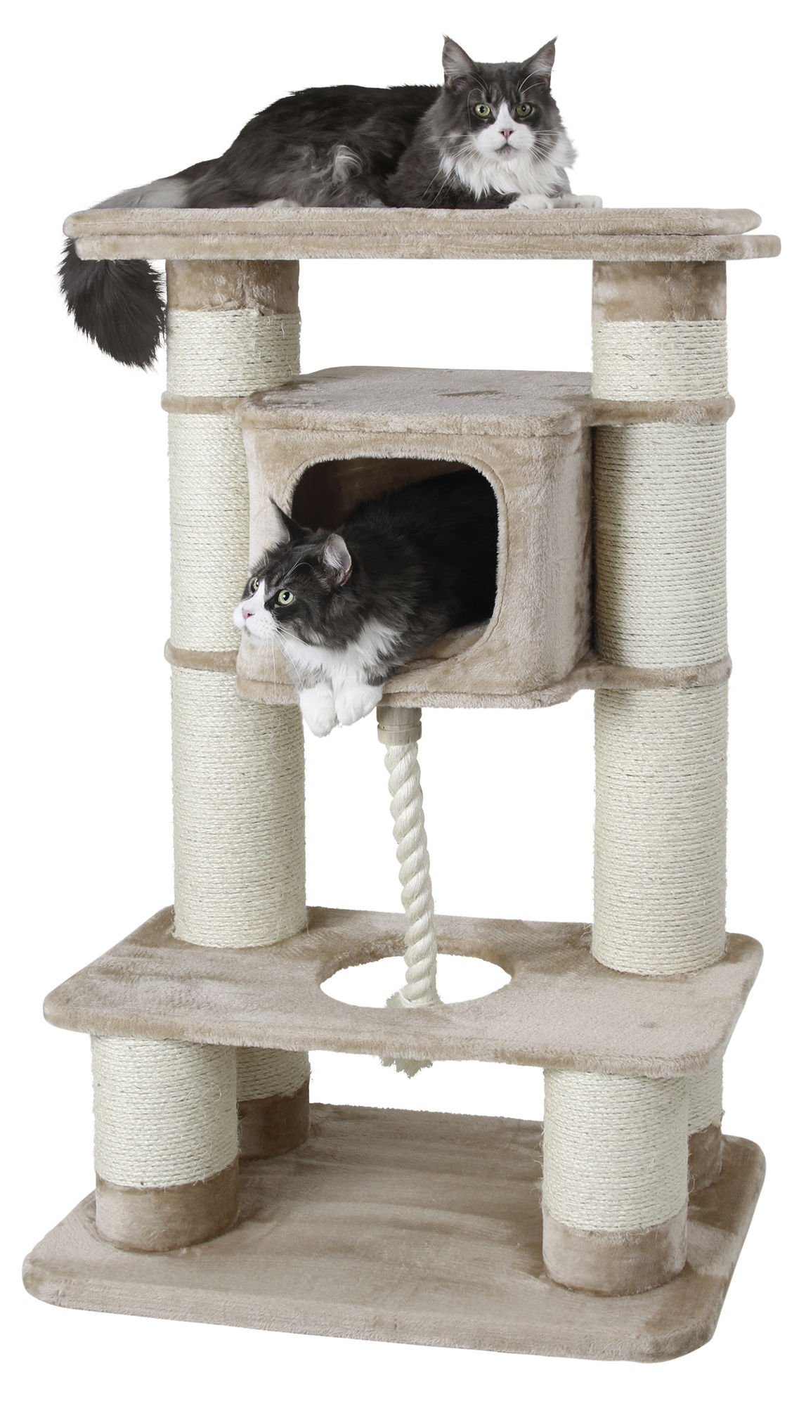 Ansamblu de joaca pentru pisici Kerbl Gentle Giant