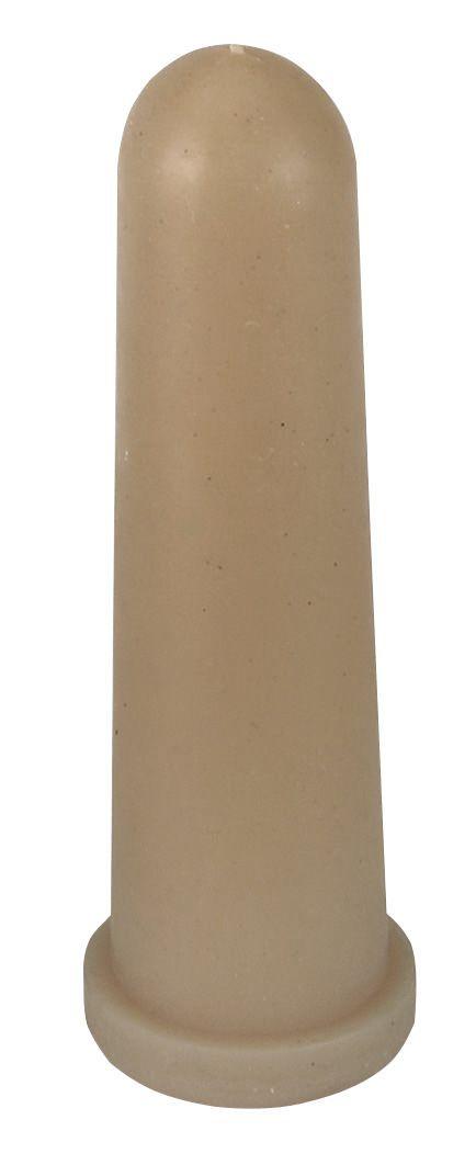 Suzeta galbena Kerbl pentru vitei - 100 mm