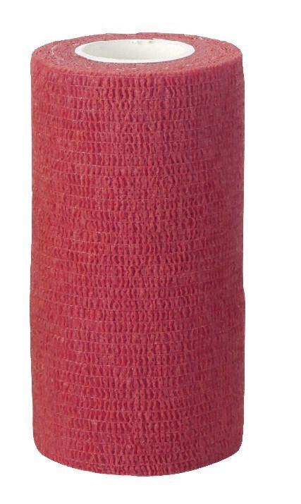Bandaj rosu pentru ongloane Vetlastic Kerbl - 7,5 cm