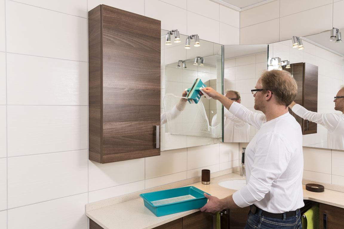 Speed Cleaner Single pentru spalarea oglinzilor