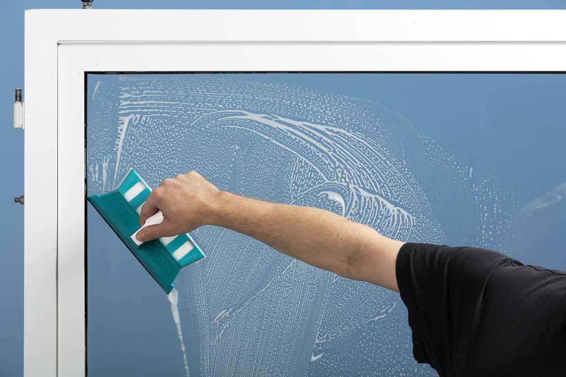 Speed Cleaner Single curata inclusiv colturile ferestrelor