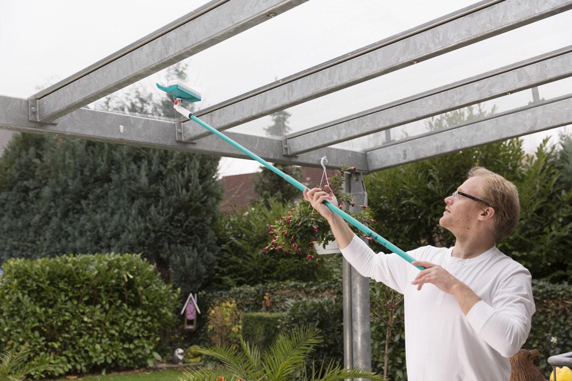 Speed Cleaner Plus - pentru terase inalte