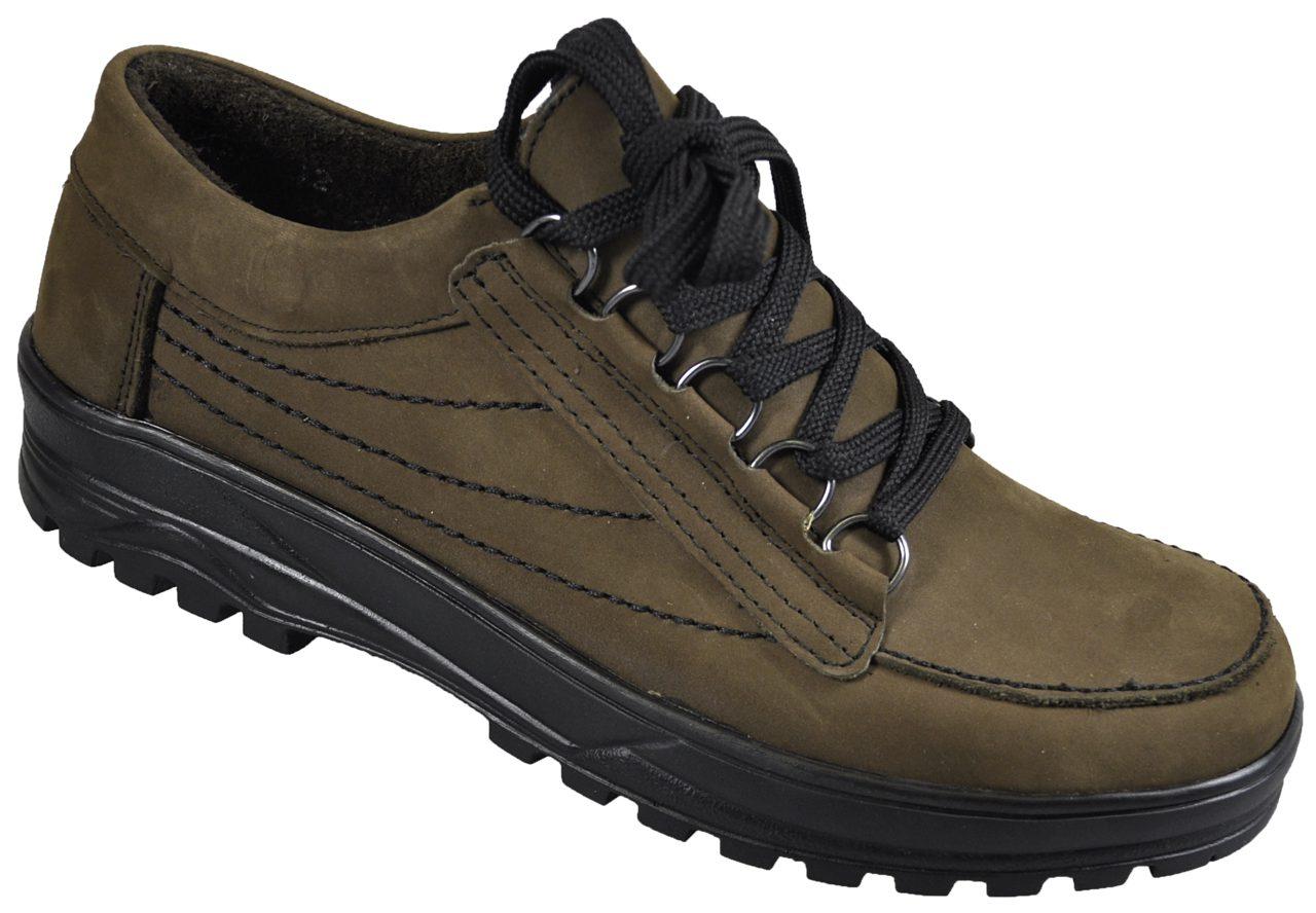 Pantofi Exclusive din piele nubuk