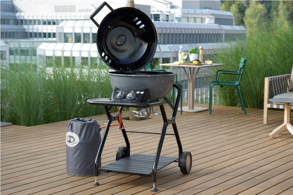 Grill cu gaz Outdoorchef model Ascona 570 G Dark Grey - Verdon