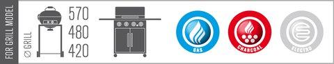 Compatibilitate suport metalic Outdoorchef pentru prepararea costitelor - Verdon
