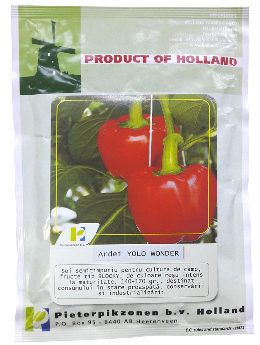 Verdon - Seminte ardei gras Yolo Wonder PPZ Olanda
