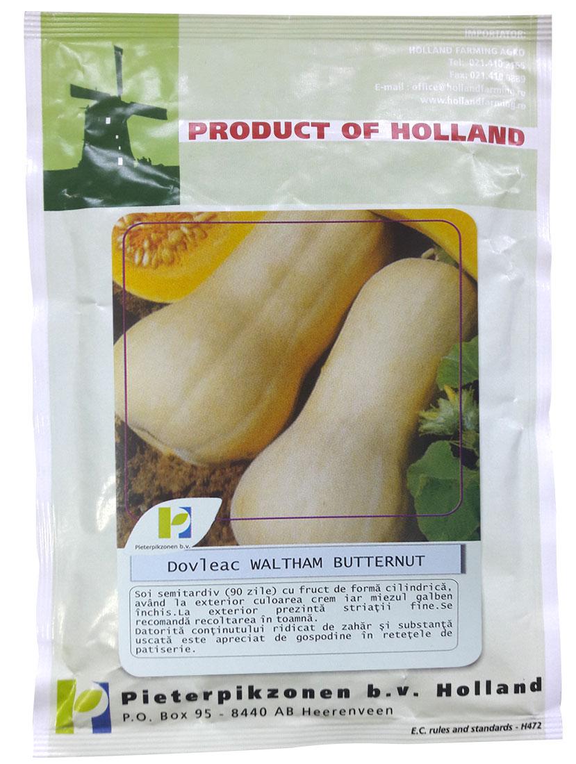Verdon - Seminte dovleac de copt Waltham Butternut PPZ Olanda