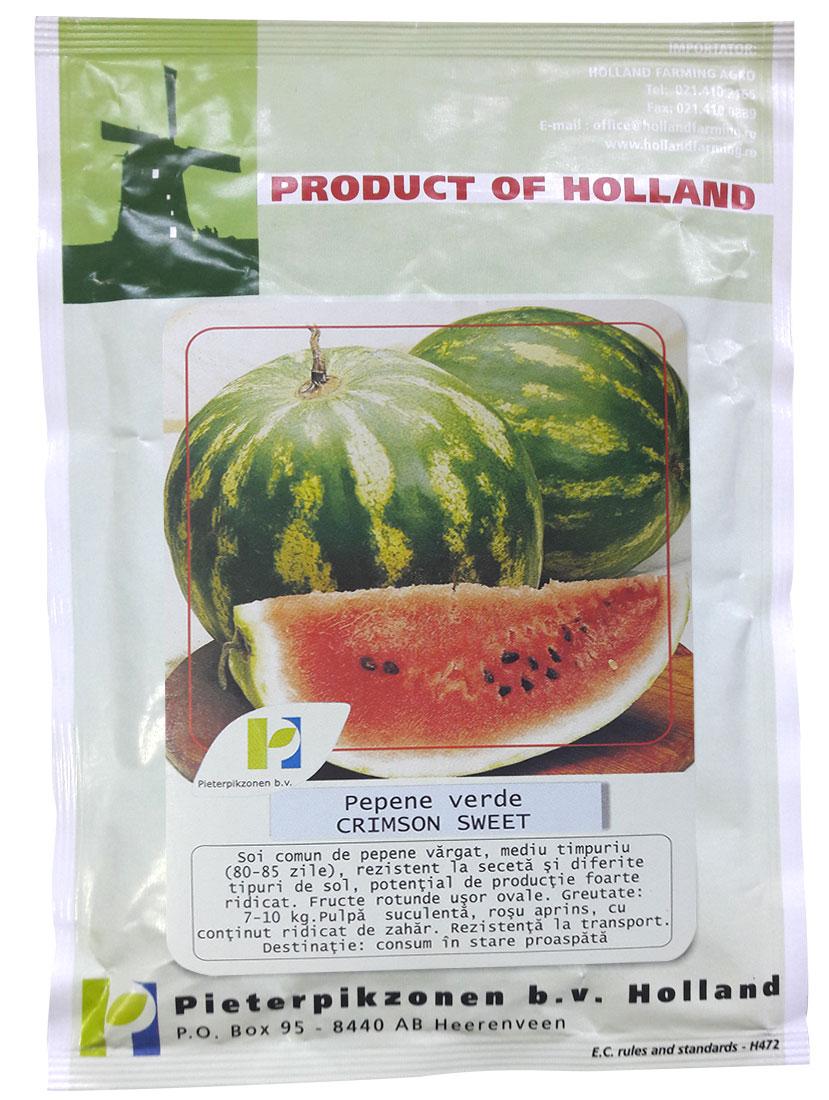 Verdon - Seminte pepene verde Crimson Sweet PPZ Olanda