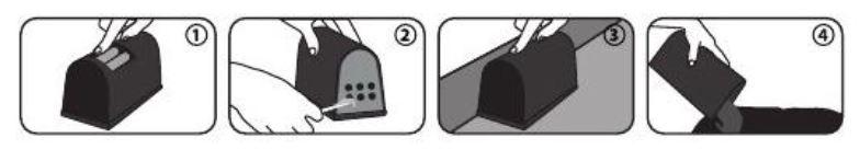 Mod de utilizare capcana electrica Rat Killer