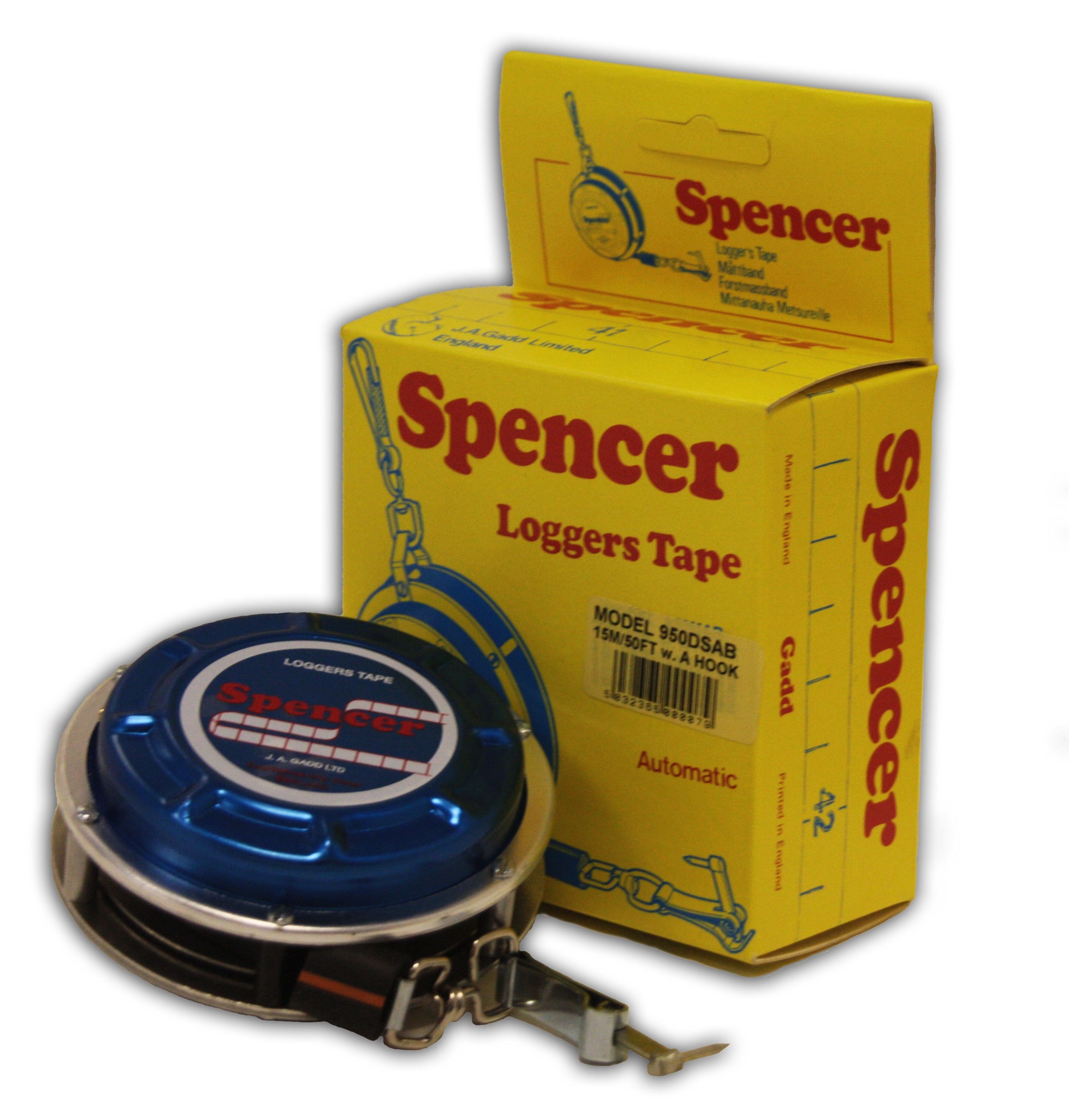/Ruleta forestiera Spencer Loggers Tape - prezentare generala
