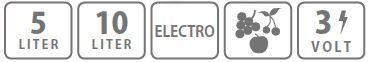 Caracteristici pulverizator electric Stocker 10L pentru erbicidat