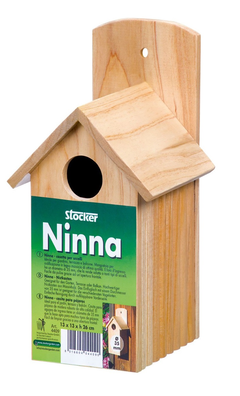 Casuta din lemn pentru pasari Ninna - Verdon