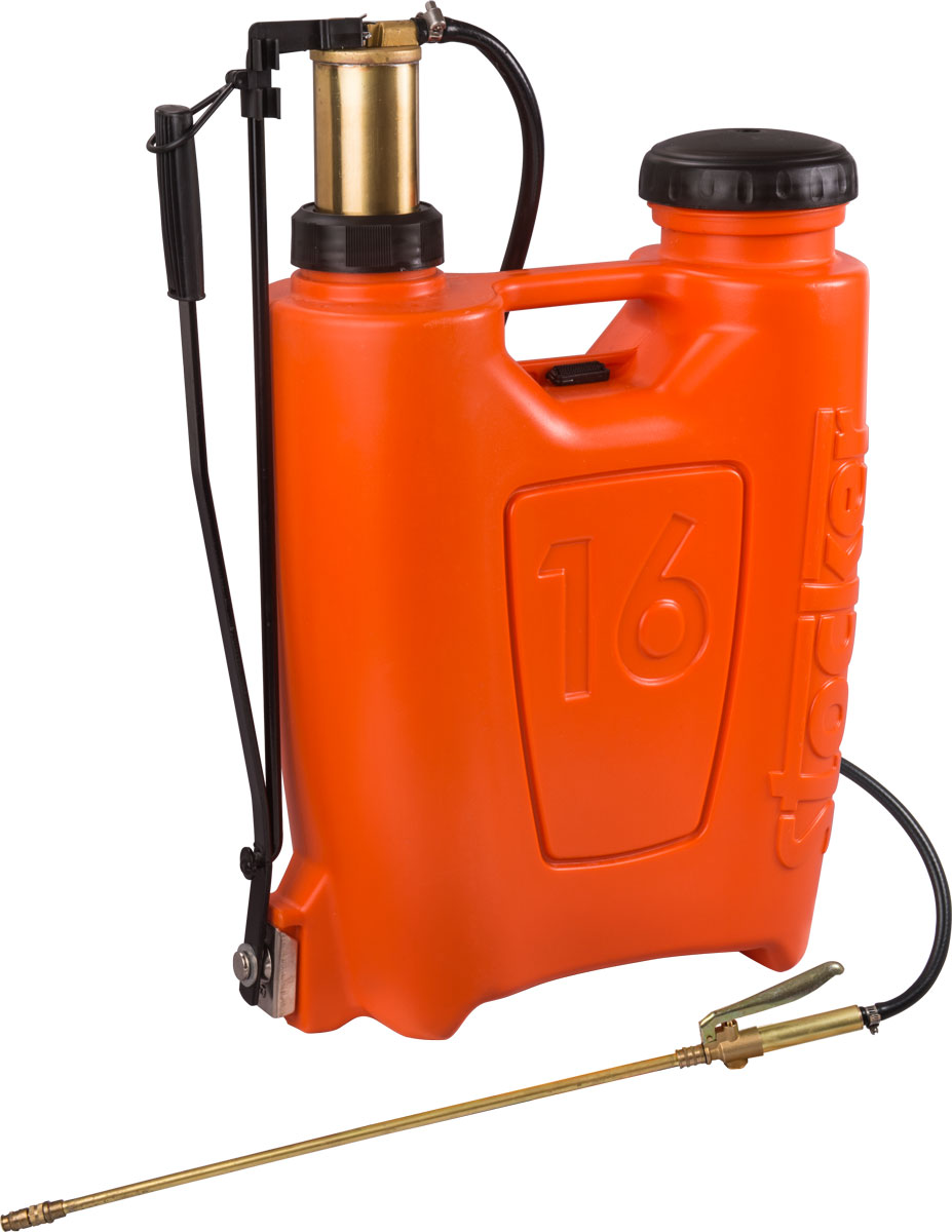 Pompa de stropit Stocker tip rucsac 16 litri cu piston si lance din bronz