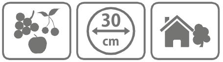 Caracteristici Disc reflectorizant Disco speriat pasari 30 cm